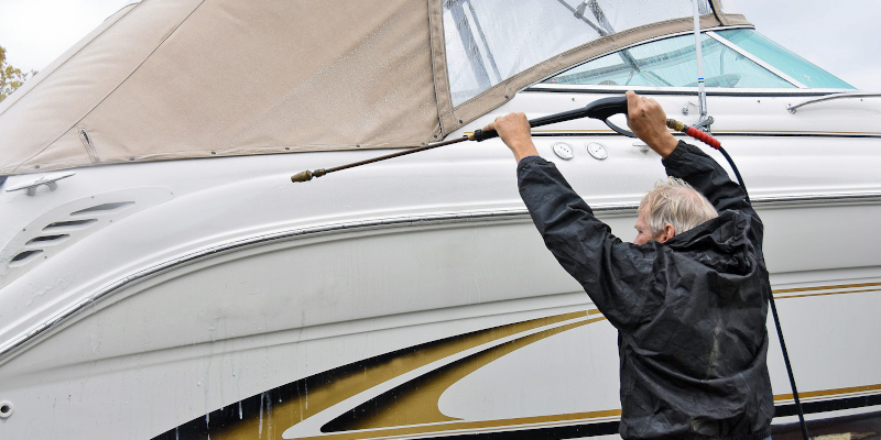 Boat Pressure Washing in Cornelius, North Carolina
